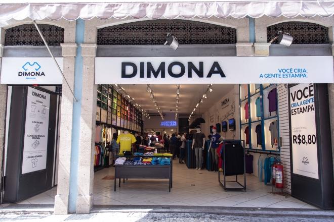 Fachada da Loja Dimona