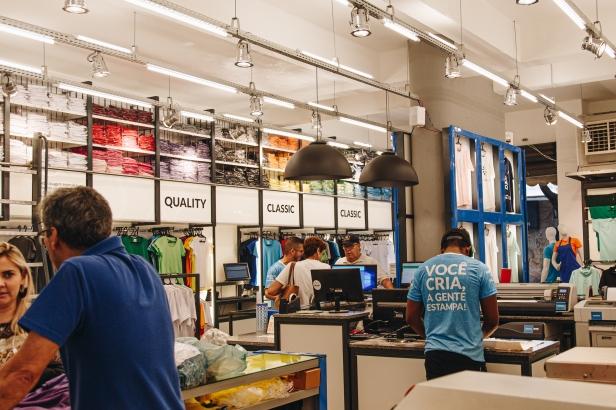 Área interna da Loja Dimona